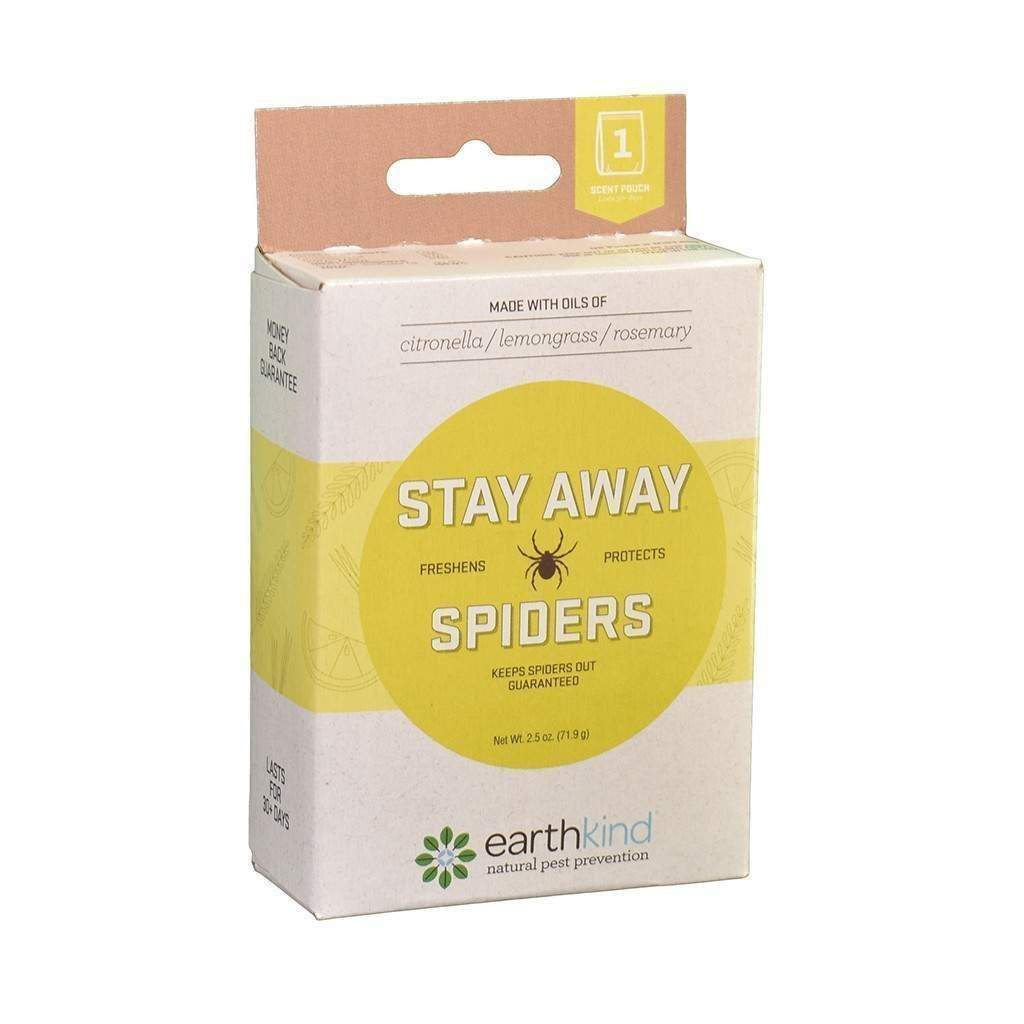 EARTH-KIND INC. Stay Away Spiders, Feeders Grain and Supply Inc.