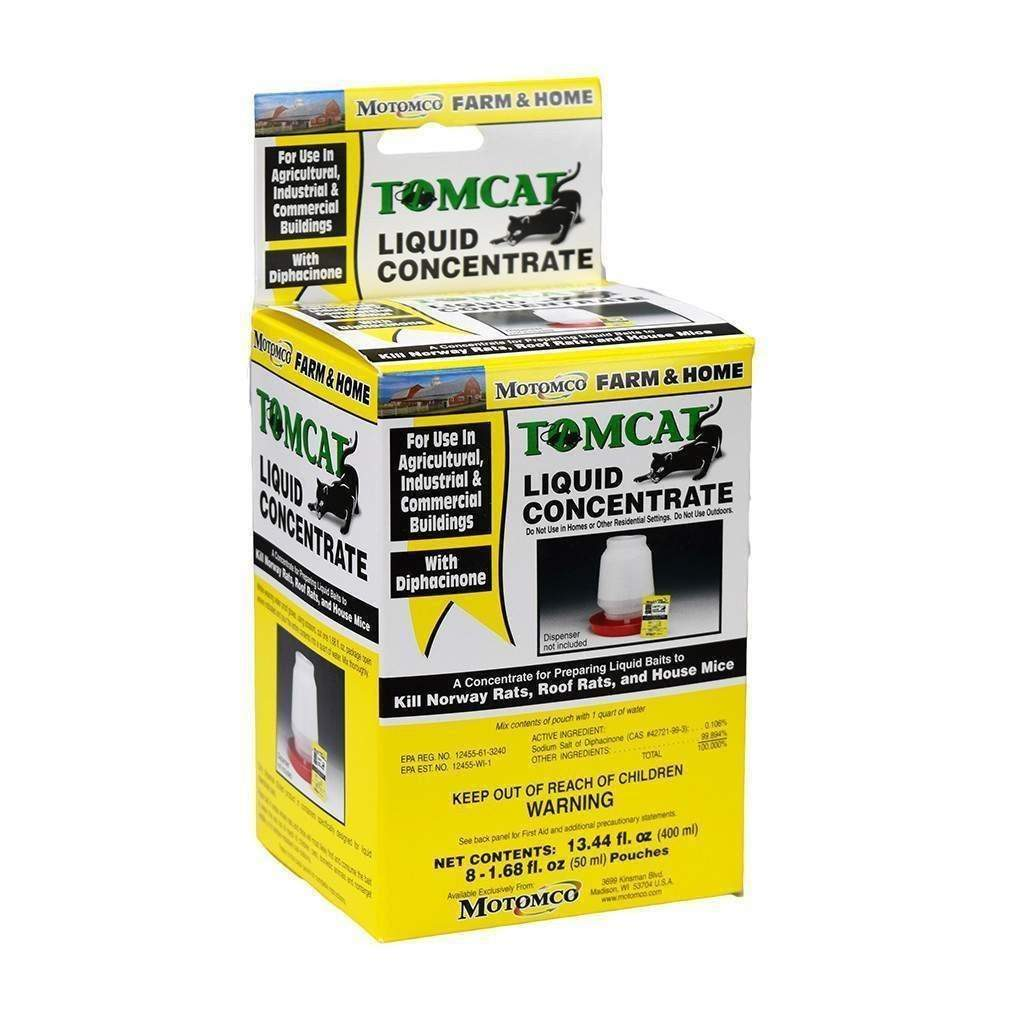 MOTOMCO Tomcat Liquid Concentrate, Feeders Grain and Supply Inc.
