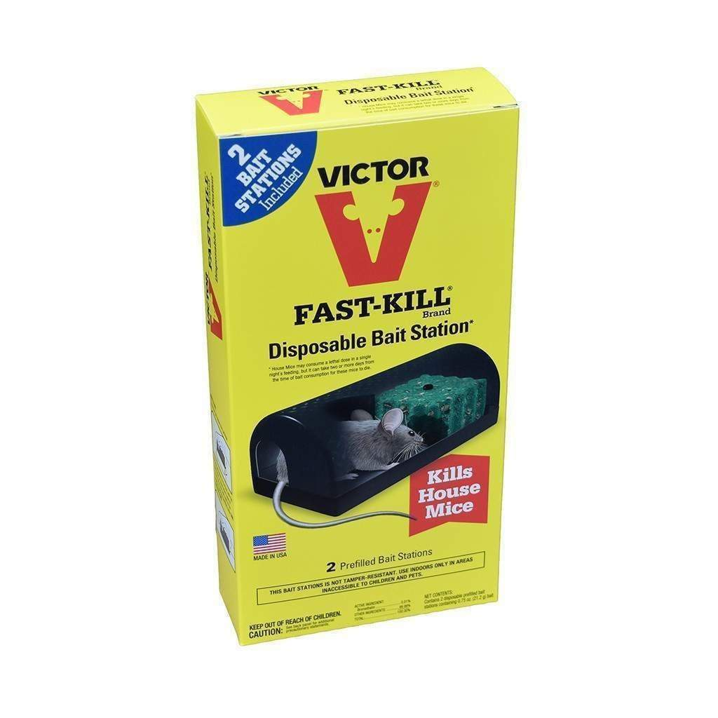 Victor VICTOR FAST KILL DISPOSABLE BAIT STATION, Feeders Grain and Supply Inc.