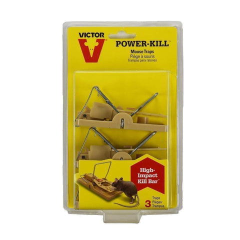 VICTOR POWER-KILL MOUSETRAP