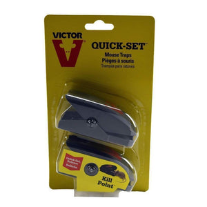 Victor VICTOR QUICK-SET MOUSE TRAPS, Feeders Grain and Supply Inc.