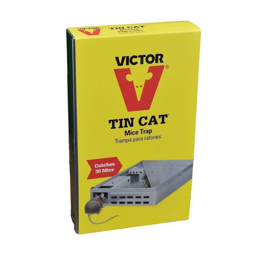 Victor Tin Cat Live Mouse Trap