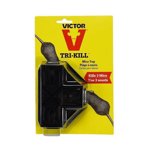 Victor VICTOR TRI-KILL MOUSETRAP, Feeders Grain and Supply Inc.