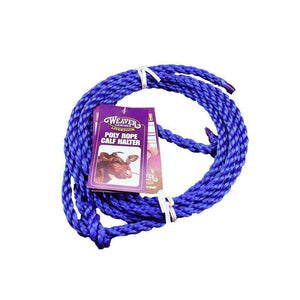 Weaver Leather WEAVER CATTLE ROPE HALTER - CALF, Feeders Grain and Supply Inc.