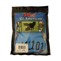 Y-TEX Y-TEX LARGE BLUE 4 * BLANK & NUMBERED EAR TAG SYSTEM, Feeders Grain and Supply Inc.