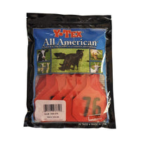 Y-TEX Y-TEX LARGE RED 4 *  BLANK & NUMBERED EAR TAG SYSTEM, Feeders Grain and Supply Inc.