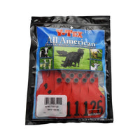 Y-TEX Y-TEX MEDIUM RED 3 *  BLANK & NUMBERED EAR TAG SYSTEM, Feeders Grain and Supply Inc.