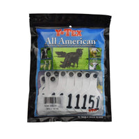 Y-TEX Y-TEX MEDIUM WHITE 3 *  BLANK & NUMBERED EAR TAG SYSTEM, Feeders Grain and Supply Inc.