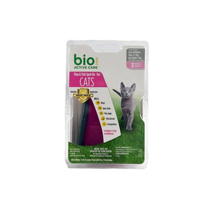 BioSpot BIO SPOT ACTIVE CARE SPOT ON FLEA & TICK TREATMENT, Feeders Grain and Supply Inc.