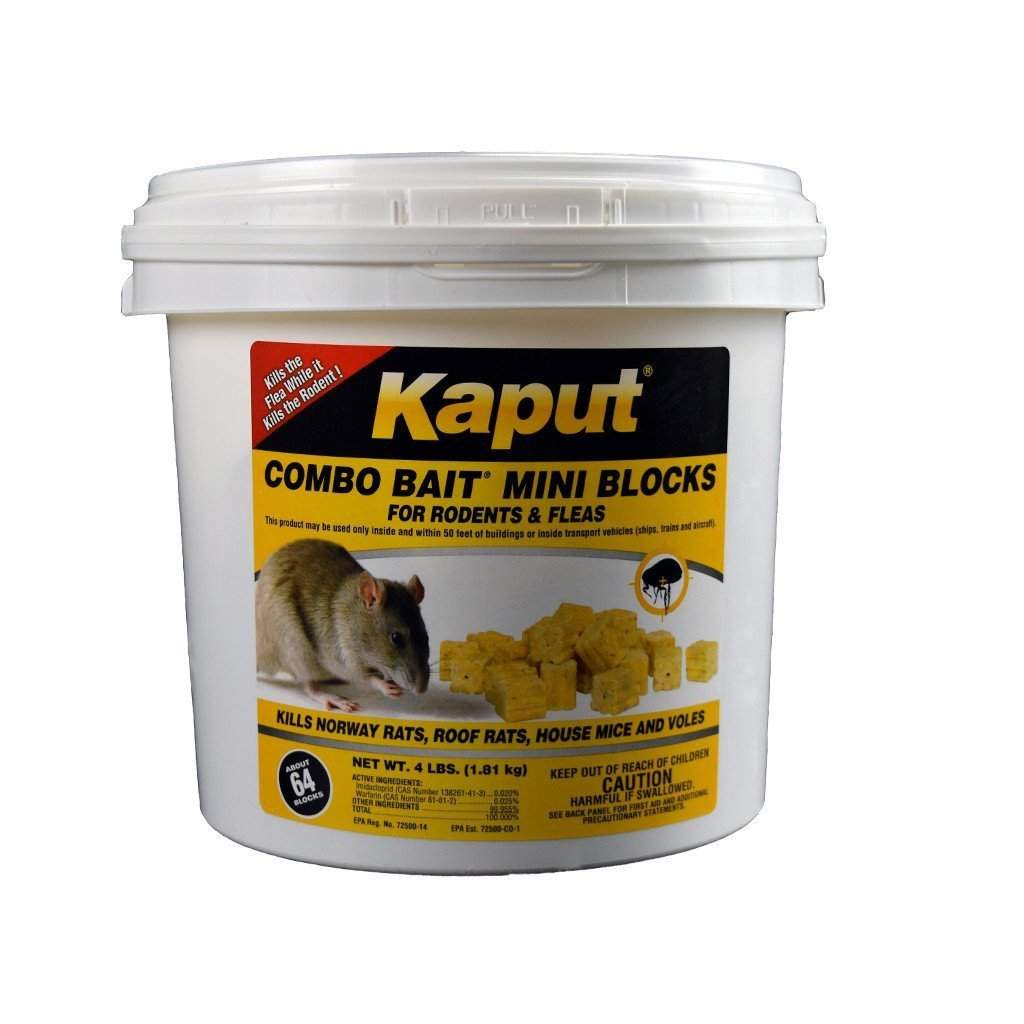 SCIMETRICS LTD. KAPUT COMBO BAIT MINI BLOCKS, Feeders Grain and Supply Inc.