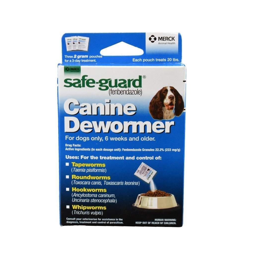 Safe-Guard SAFE-GUARD CANINE DEWORMER, Feeders Grain and Supply Inc.
