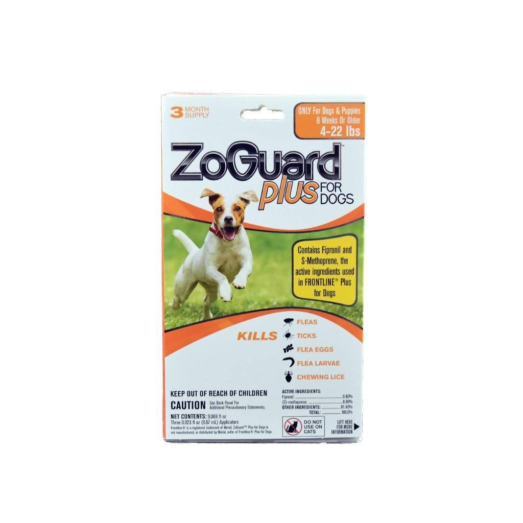 ZoGuard ZOGUARD PLUS FLEA & TICK CONTROL FOR DOGS, Feeders Grain and Supply Inc.