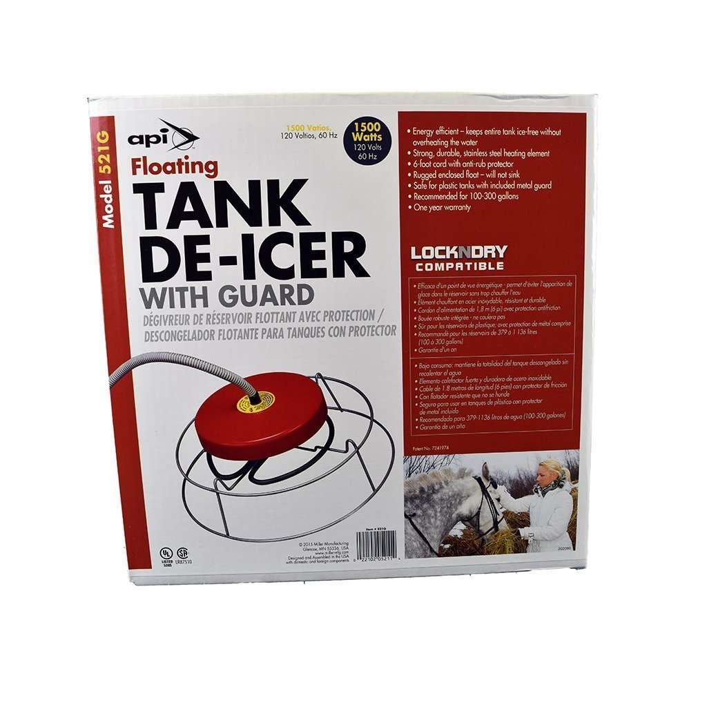 ALLIED PRECISION INDUSTRIES API 1,500 Watt Floating Tank De-Icer with Guard, Feeders Grain and Supply Inc.