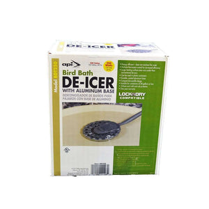 ALLIED PRECISION INDUSTRIES API 250 Watt Birdbath De-Icer, Feeders Grain and Supply Inc.