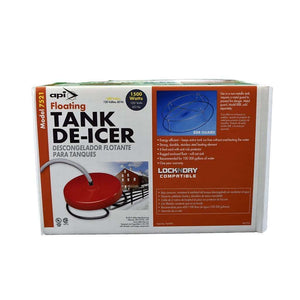 ALLIED PRECISION INDUSTRIES API 1,500 Watt Floating Tank De-Icer, Feeders Grain and Supply Inc.