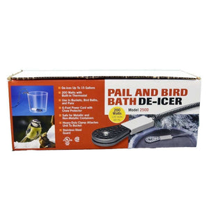 ALLIED PRECISION INDUSTRIES API 200 Watt Pail & Birdbath De-Icer, Feeders Grain and Supply Inc.