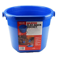 API 5 Gallon Heated Flatback Bucket