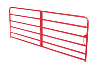 "Feeders Grain and Supply Inc.  12' Heavy Red 2"" Gate, Feeders Grain and Supply Inc."