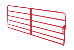 "Feeders Grain and Supply Inc.  20' Heavy Red 2"" Gate, Feeders Grain and Supply Inc."