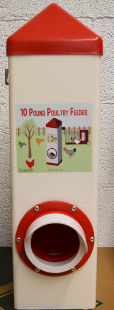 10 Pound Poultry Feeder