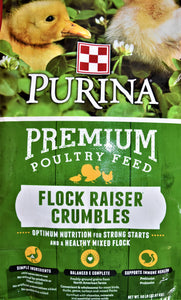 Purina Purina Flock Raiser Crumbles, Feeders Grain and Supply Inc.
