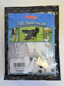 Y-Tex Sheep Tags ( White )
