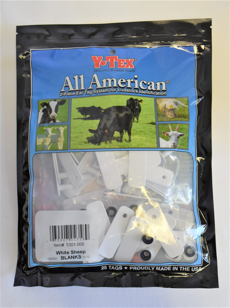 Y-Tex  Sheep Tags ( Red )