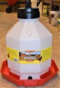 Poultry & Game Bird Waterer 5 Gallon