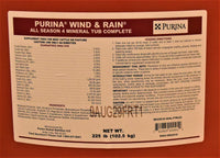Purina Wind and Rain All Season 4 Mineral Tub Complete
