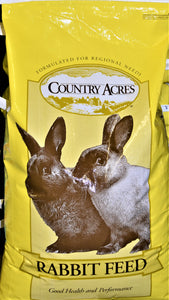 Country Vet Country Acres Rabbit Feed, Feeders Grain and Supply Inc.
