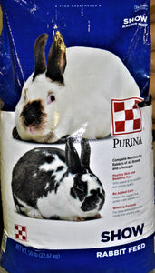 Purina Purina Rabbit Show Feed, Feeders Grain and Supply Inc.