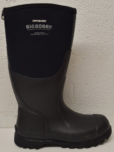 Dryshod Dryshod Men's Big Bobby Hi: Black/Grey (BBB-MH-BK), Feeders Grain and Supply Inc.