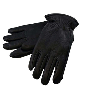 Fairfield Line Fairfield Line Lined Black Deerskin Drivers Gloves, Feeders Grain and Supply Inc.