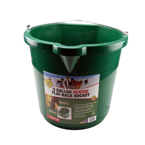 Farm Innovators Oversized Heated Flatback Bucket, Feeders Grain and Supply Inc.