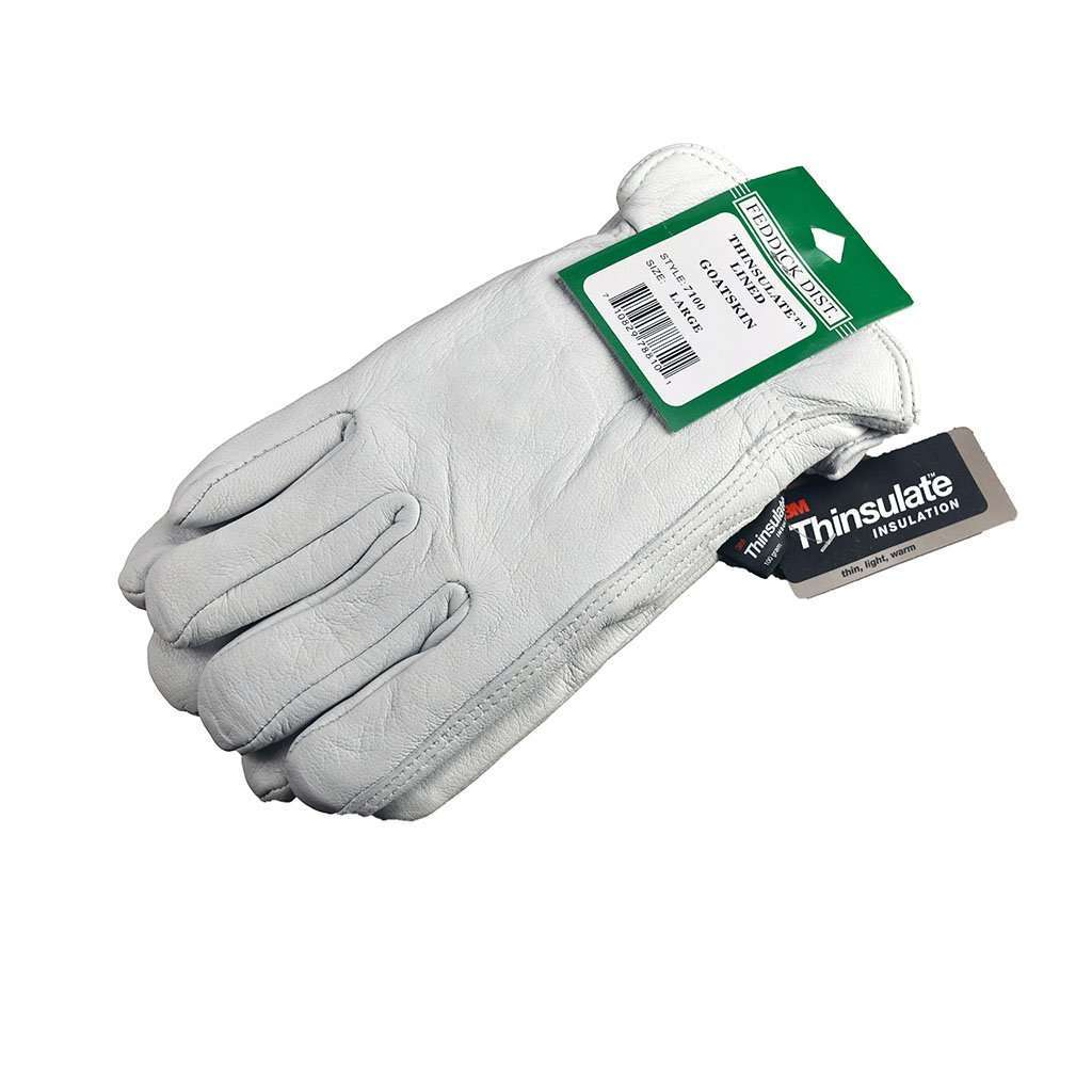 Feddick Distributing Thinsulate Lined Goatskin Drivers Gloves, Feeders Grain and Supply Inc.