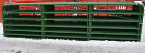 "Feeders Grain and Supply Inc.  18' Heavy Red 2"" HW Gate, Feeders Grain and Supply Inc."