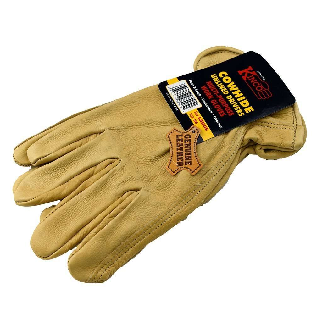 Kinco Kinco Cowhide Unlined Drivers Gloves, Feeders Grain and Supply Inc.