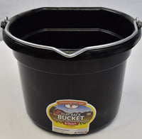 Little Giant Flat Back 8 Quart Bucket
