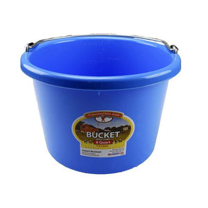 LITTLE GIANT Little Giant 8 Quart Plastic Bucket, Feeders Grain and Supply Inc.