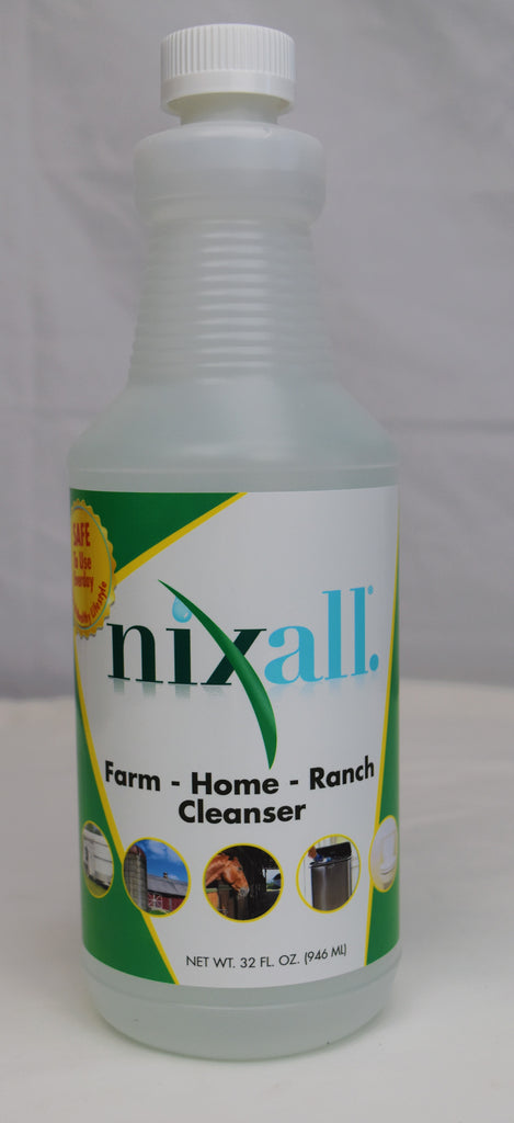 Seriously Clean Ltd. Nixall Cleanser, Feeders Grain and Supply Inc.