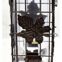 Woodstream Corp. Perky-Pet Squirrel-be-Gone Cylinder Style Wild Bird Feeder - Leaf, Feeders Grain and Supply Inc.