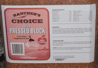 Rancher's Choice Deer Pressed Block with Apple Flavoring