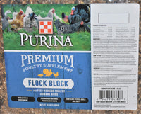 Purina Premium Poultry Supplement Flock Block