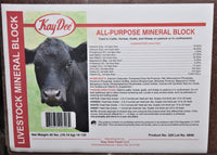 Kay Dee All Purpose Mineral Block