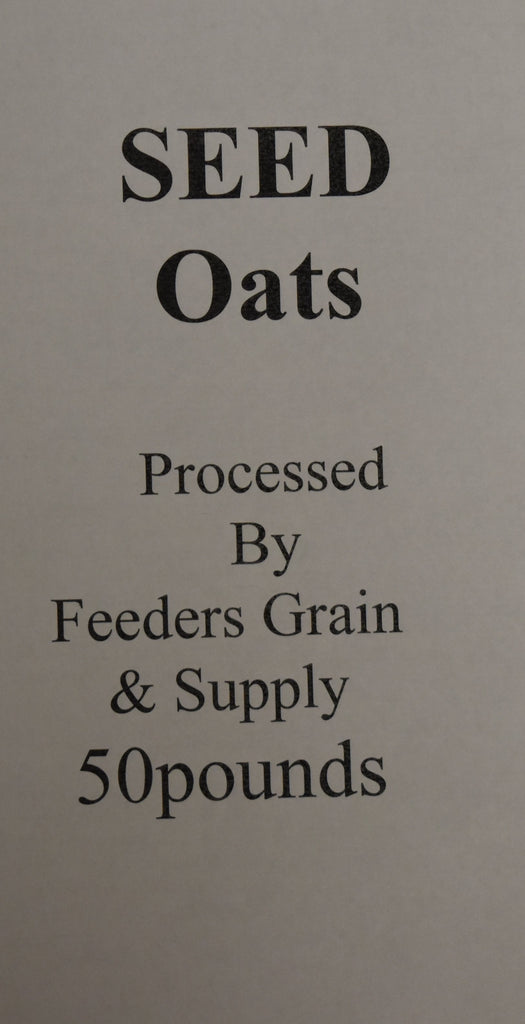 Feeders Grain and Supply Inc.  FGS Seed Oats, Feeders Grain and Supply Inc.