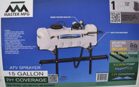 Master MFG 15 Gallon ATV Sprayer