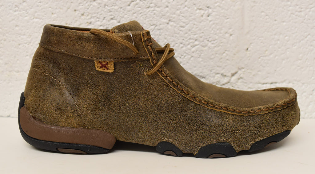 Twisted X Women's Original Chukka Driving Moc: Bomber/Bomber (WDM0001), Feeders Grain and Supply Inc.