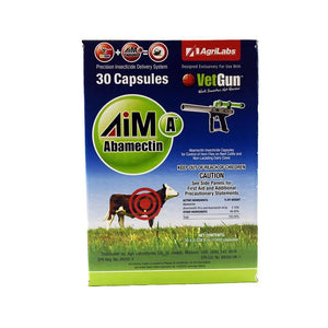 Agrilabs AgriLabs AimA Abamectin capsules, Feeders Grain and Supply Inc.