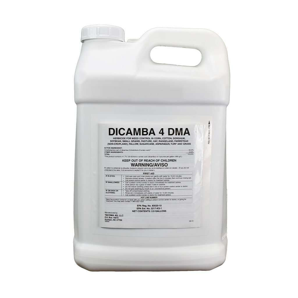 TACOMA AG LLC Dicamba 4 DMA Herbicide, Feeders Grain and Supply Inc.