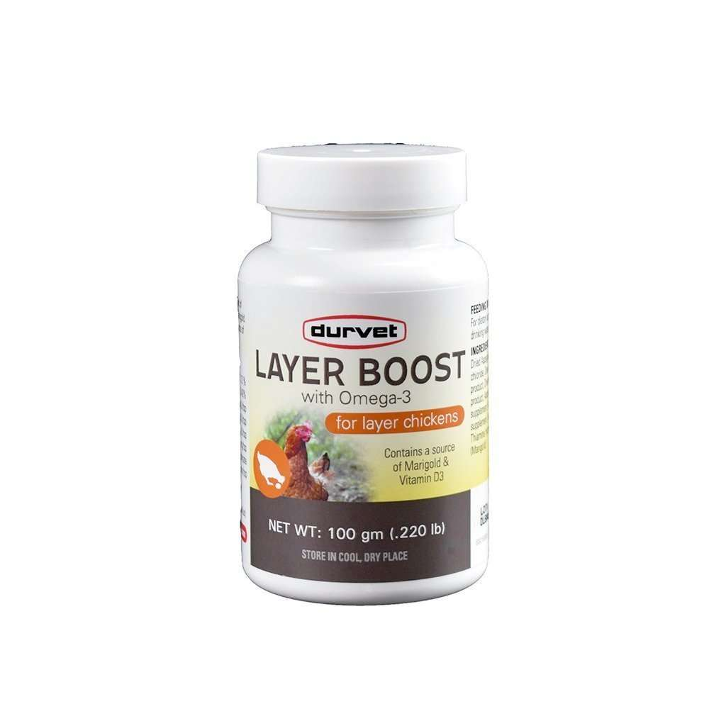 DURVET Durvet Layer Boost with Omega 3, Feeders Grain and Supply Inc.